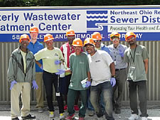 Green Team visits Westerly Wastewater Treatment Plant