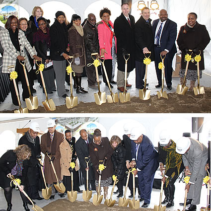 breaking ground on Phase IV of Heritage View Homes